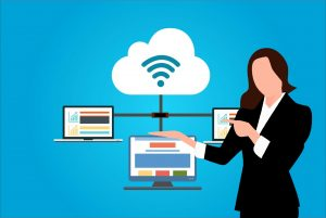 Cloud computing has nothing to do with the fluffy clouds in the sky.