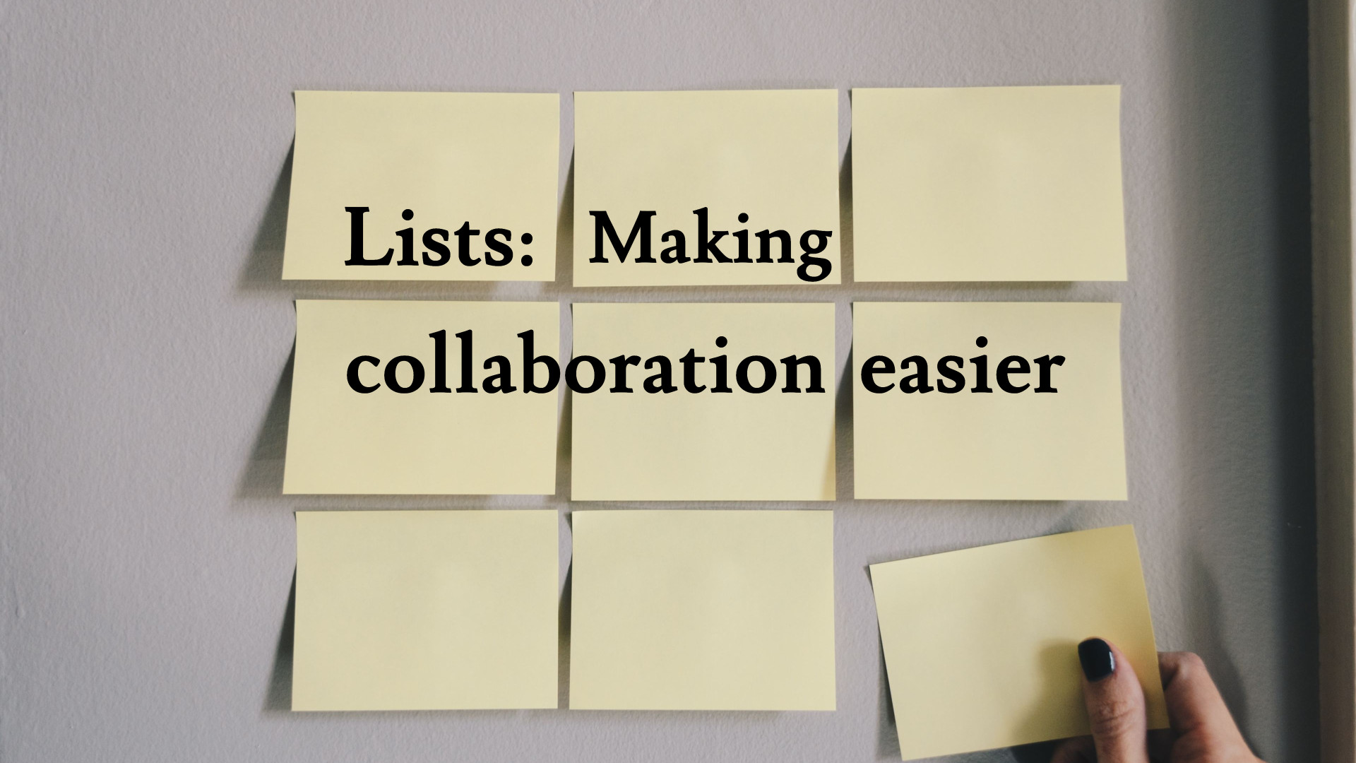 Microsoft Lists Makes Collaboration Easier