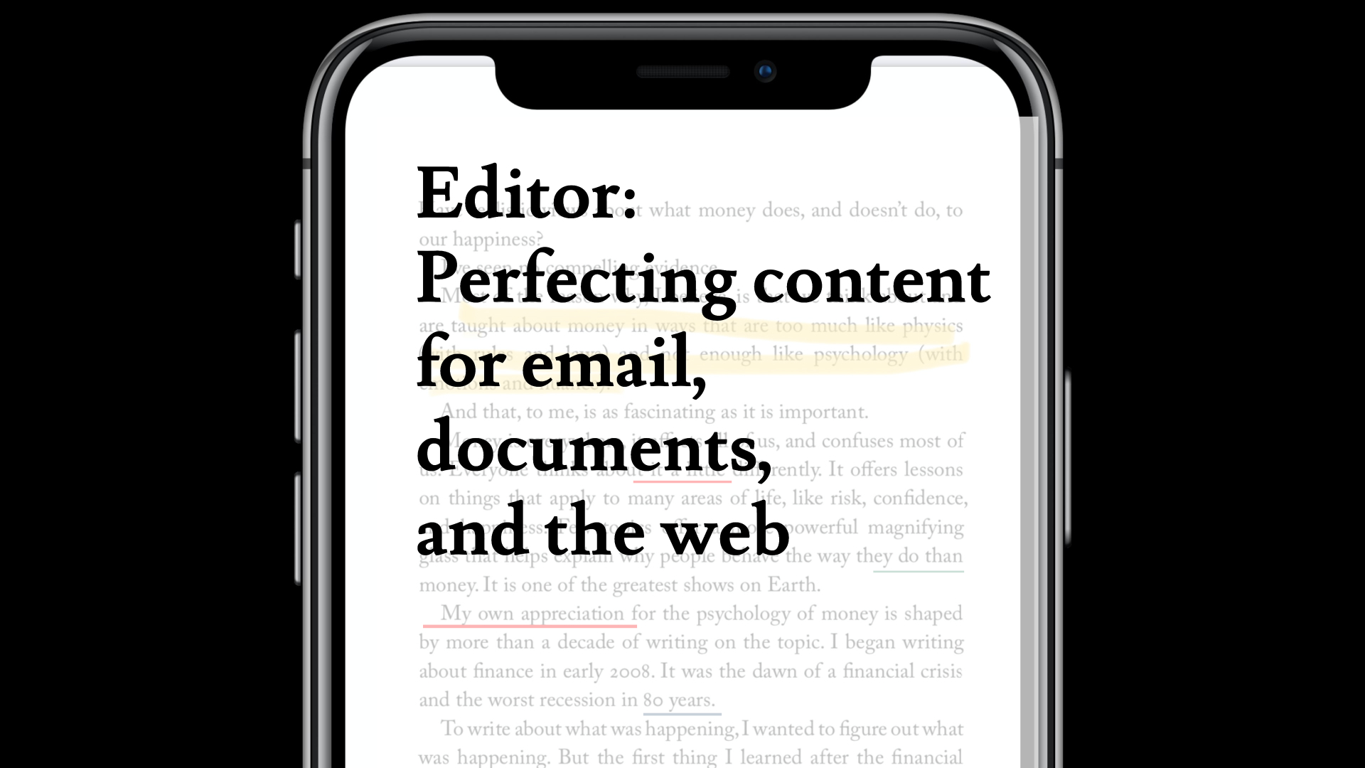 Microsoft Editor: Perfecting Content for Email, Documents, and the Web