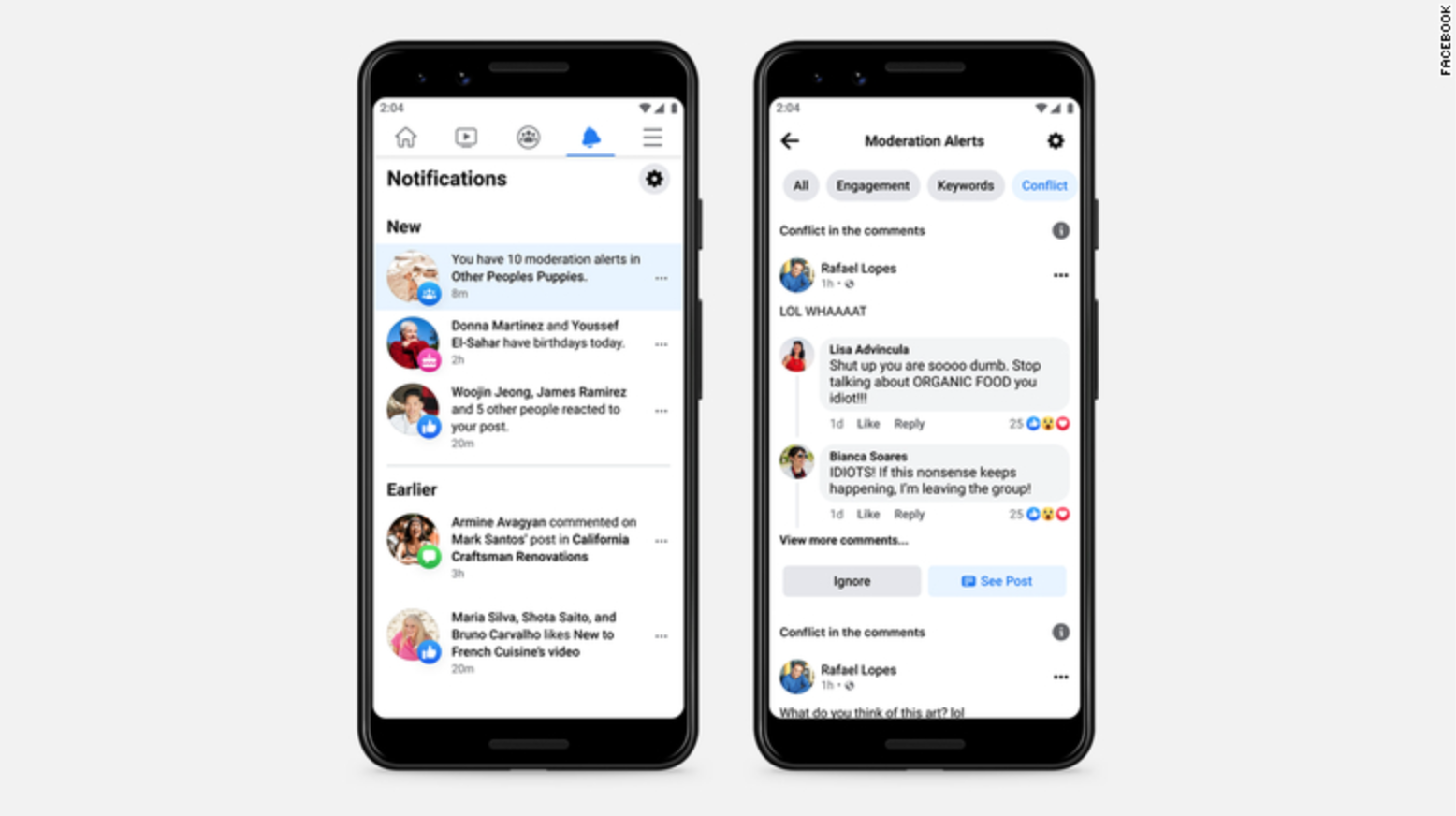 Facebook is testing AI to get you to stop fighting in its groups